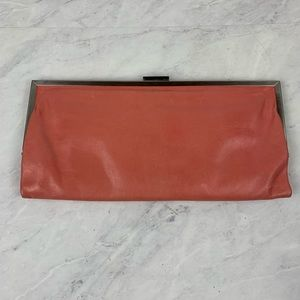 Hobo International Coral Leather Clutch Wallet